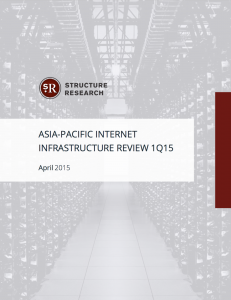 Asia-Pacific 1Q15 Infrastructure Review