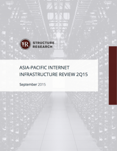 Asia-Pacific 2Q15 Infrastructure Review