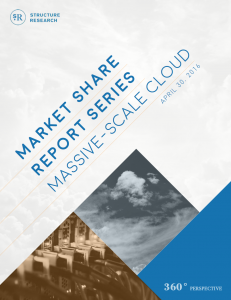 Market Share Report: Massive-Scale Cloud