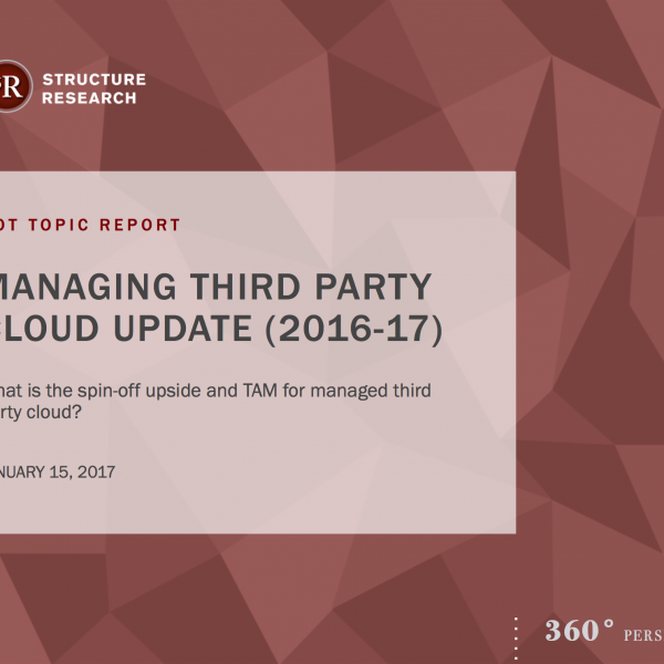 Managed 3rd party cloud