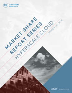 Market Share Report: Hyperscale Cloud 2018