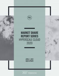 Market Share Report: Hyperscale Cloud Q4 2020 Update