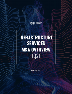 Infrastructure Services M&A Overview: Q1 2021
