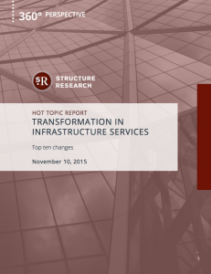 Transformation in Infrastructure Services: Top 10 Changes