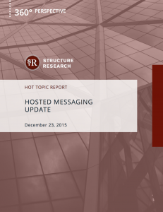 Hot Topic Report: Hosted Messaging Update