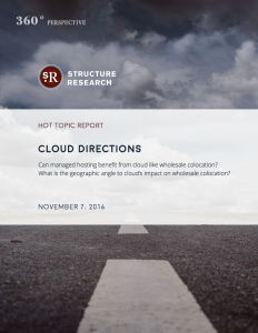 Hot Topic Report: Cloud Directions