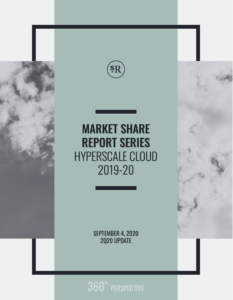 Market Share Report: Hyperscale Cloud Q2 2020 Update