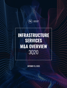 Infrastructure Services M&A Overview: Q3 2020