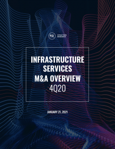 Infrastructure Services M&A Overview: Q4 2020